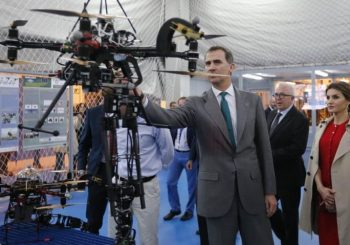 AEROARMS is presented to the King of Spain