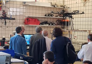 Visit of Navantia to the AEROARMS spanish partners facilities