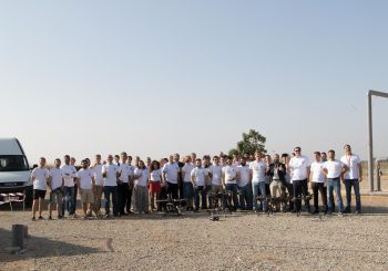 The industrial inspection drone project called AEROARMS has sucessfully pased the European Comission's evaluation.
