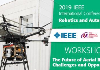 AEROARMS presentations at ICRA 2019