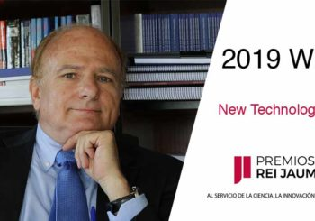 Anibal Ollero Will Receive The Rei Jaume I Prize On November 25th